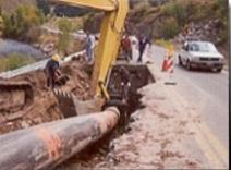 horseshoe construction bursting